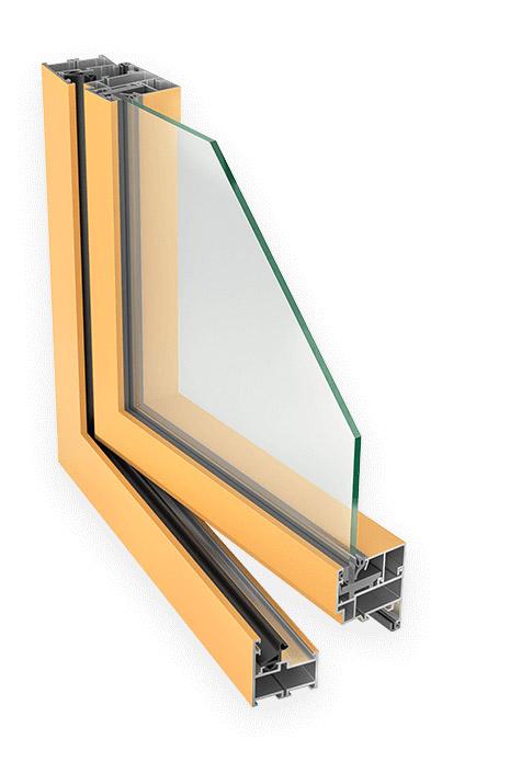 aluprof mb 45 aknad plastaknad alumiiniumaknad odav akenpuitaknad-odavaken