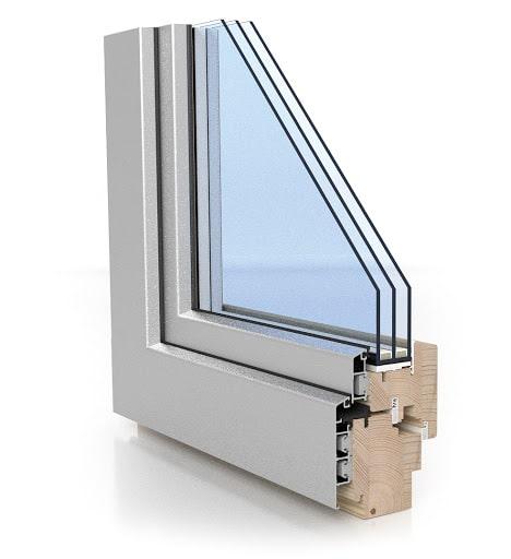 puit alumiinium 68mm aknad plastaknad alumiiniumaknad puitaknad odav aken